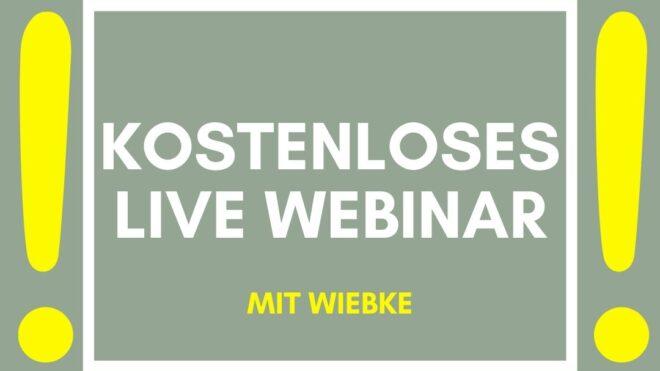 Kostenloses Live-Webinar